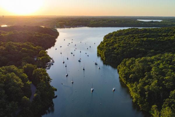 SailBoat-Cove-Sunset
